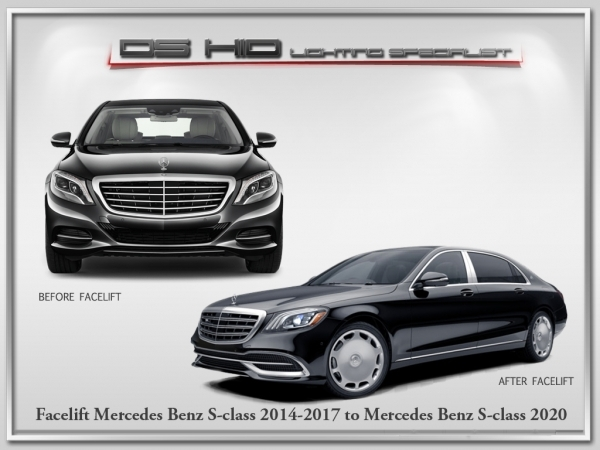 Conversion / Facelift Parts - Mercedes Benz S Class W222 To 2019 Model
